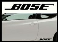 BOSE CAR BODY DECALS